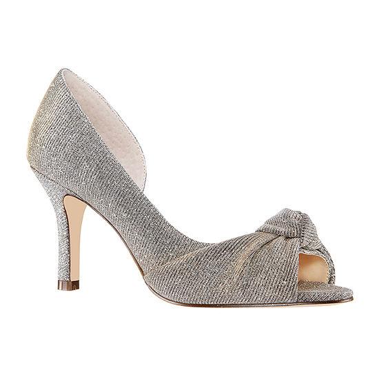 I. Miller Womens Ferna Peep Toe Cone Heel Pumps