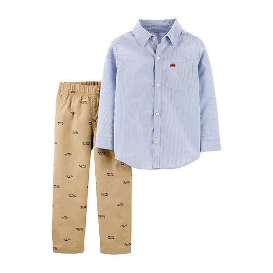 Carter's Boys 2-pc. Striped Pant Set Toddler