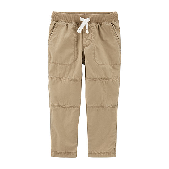 Carter's Boys Straight Pull-On Pants - Toddler