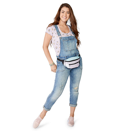 Denim: Overalls and Henley Tee