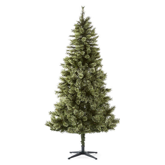 Jc Penney Christmas Trees: North Pole Trading Co. 7 Foot Weston Fir Cashmere Pre-Lit