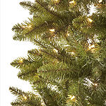 North Pole Trading Co. 7 Foot Coventry Fir Pre-Lit Christmas Tree