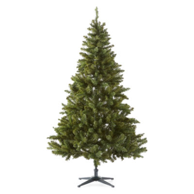 North Pole Trading Co. 6 1/2 Foot Easton Spruce Pre-Lit Christmas Tree