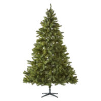 Deals on North Pole Trading Co. Sleigh Ride 7 1/2 Pre-Lit Lights Christmas Tree