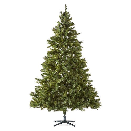 North Pole Trading Co. 7 1/2 Foot Easton Spruce Pre-Lit Christmas Tree