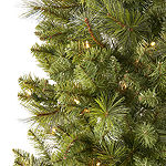 North Pole Trading Co. 7 Foot Clinton Fir Pre-Lit Christmas Tree