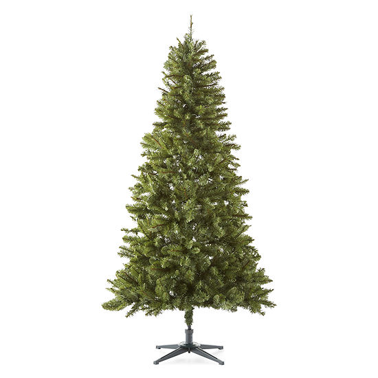 North Pole Trading Co. 6 1/2 Foot Seymour Pine Pre-Lit Christmas Tree