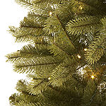 North Pole Trading Co. 7 Foot Durham Spruce Pre-Lit Multi-Function Lights Christmas Tree