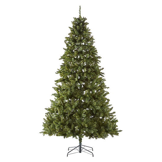 North Pole Trading Co. 9 Foot Easton Spruce Pre-Lit Christmas Tree