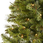 North Pole Trading Co. 9 Foot Clinton Pine Pre-Lit Christmas Tree