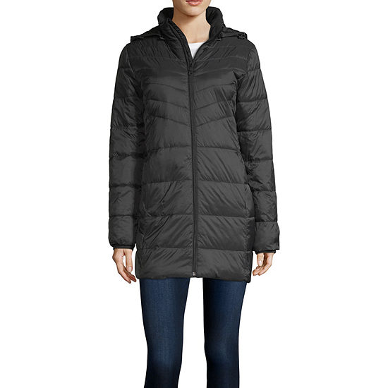 Xersion Hooded Lightweight Puffer Jacket