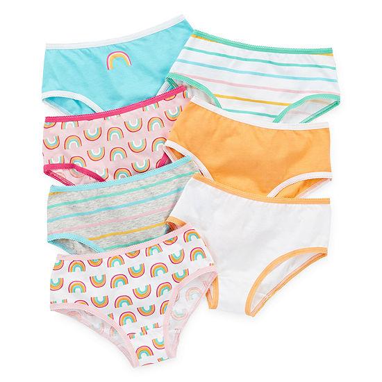 Okie Dokie Girls 7 Pair Brief Panty Toddler