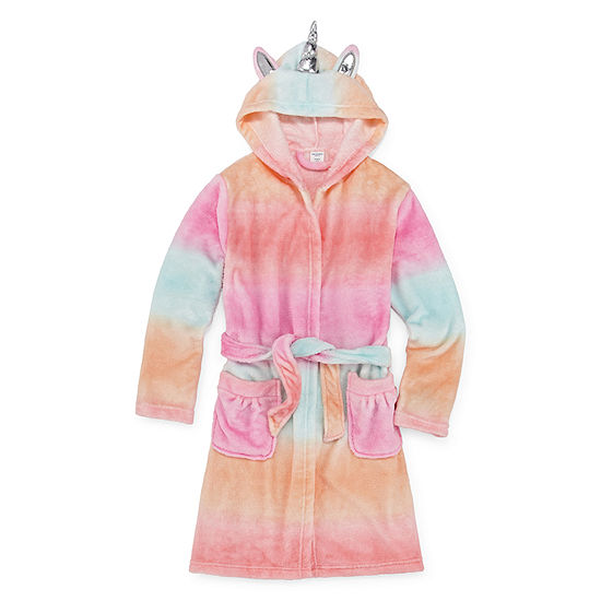 Arizona Girls Fleece Long Sleeve Knee Length Robe