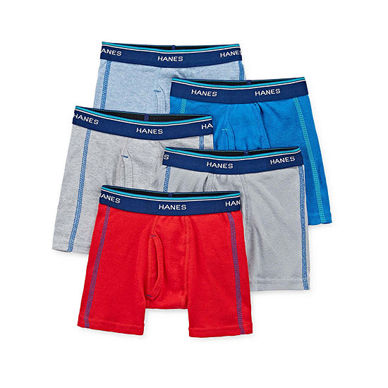 Hanes Toddler Boys 5 Pack Boxer Briefs