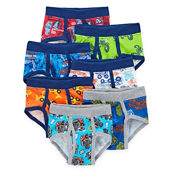 Hanes-Toddler Boys 7 Pair Briefs