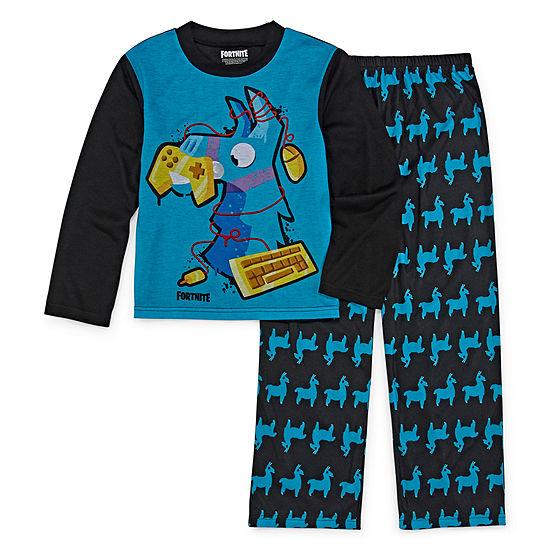 Fortnite Boys 2-pc Pajama Set Big Kid