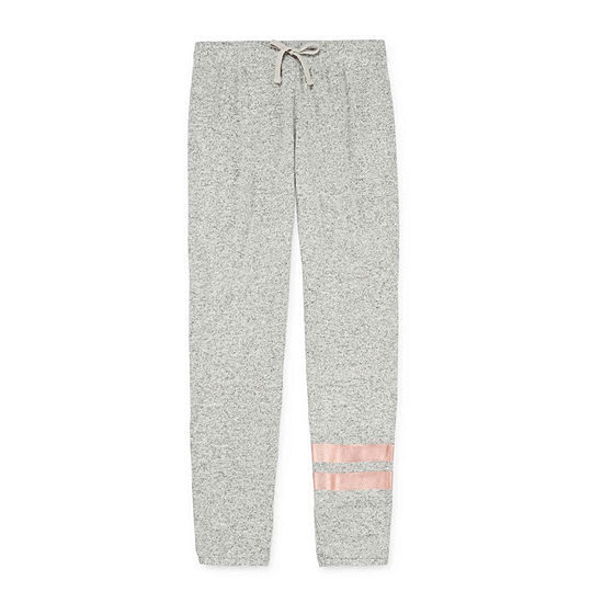 Inspired Hearts Girls Mid Rise Slim Jogger Pant
