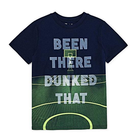 Xersion Crew Neck Short Sleeve Graphic T-Shirt Preschool / Big Kid Boys
