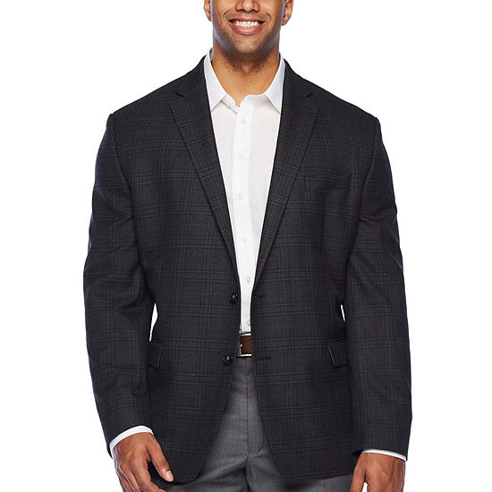 Shaquille O'Neal XLG - Big and Tall Mens Classic Fit Sport Coat