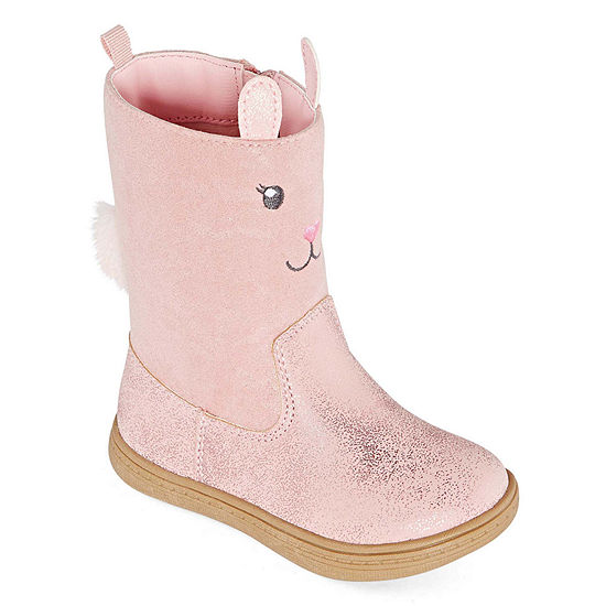 Carter's Toddler Girls Eliska Zip Closed Toe Boot