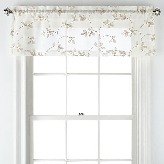 Regal Home Collections, Inc. Meadow Rod-Pocket Valance