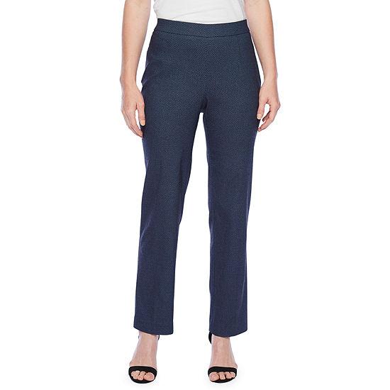 Briggs New York Corp Womens Slim Pull-On Pants