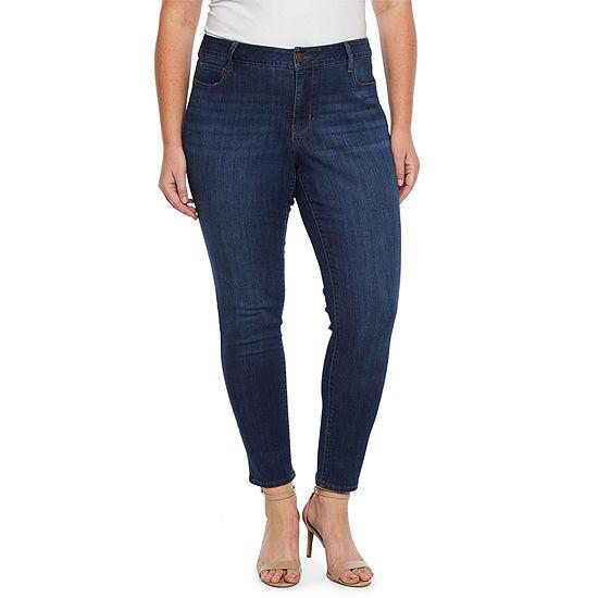 Ana 5 Pocket Skinny Jean Plus
