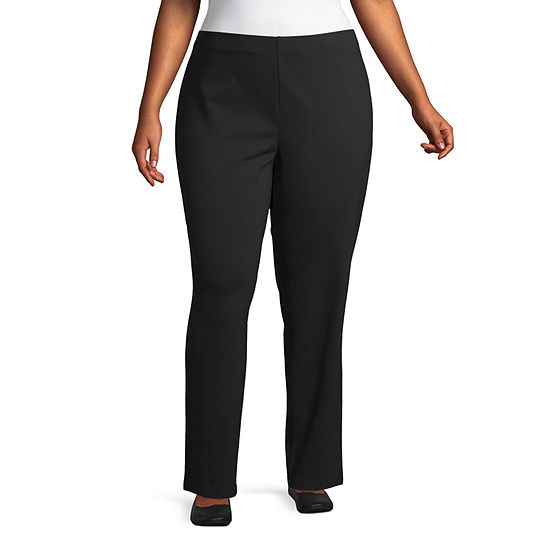 Liz Claiborne Womens Pull-On Pants-Plus