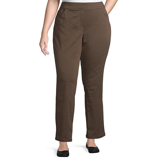 Liz Claiborne Pull-On Pants - Plus