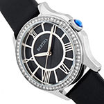 Bertha Womens Black Leather Strap Watch-Bthbr9801