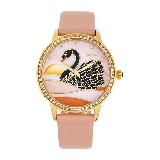 Bertha Womens Brown Leather Strap Watch-Bthbr9004