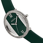 Bertha Womens Green Leather Strap Watch-Bthbr9102