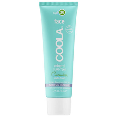 Coola Mineral Face SPF 30 - Matte Finish Cucumber