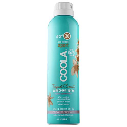 Coola Sport Continuous Spray SPF 30 - Tropical Coconut