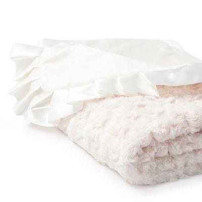 Rosette Blanket Ivory