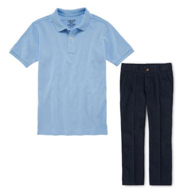 jcpenney.com   IZOD® Piqué Polo or Flat-Front Pants - Boys 8-20