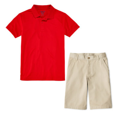 jcpenney.com | IZOD® Performance Polo or Flat-Front Shorts - Preschool Boys 4-7