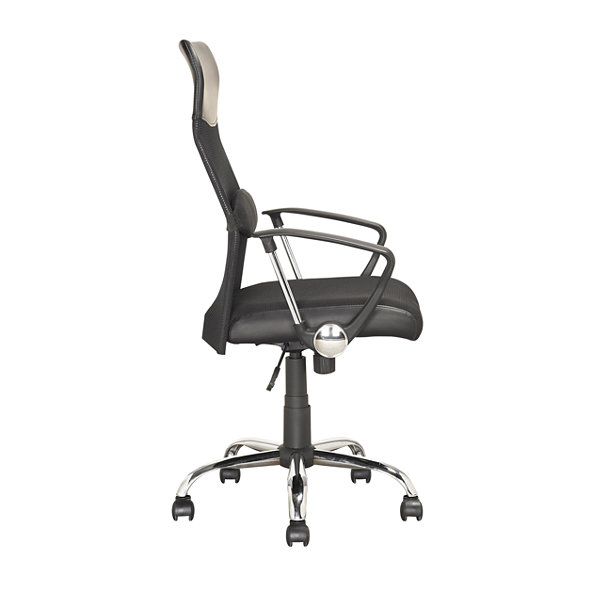 Workspace Executive Faux-Leather  And Mesh Officechair