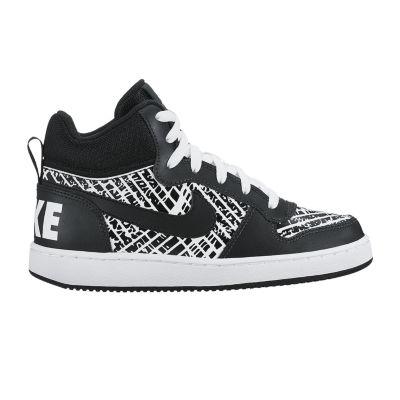 Nike Court Borough Mid Boys Sneakers - Big Kids