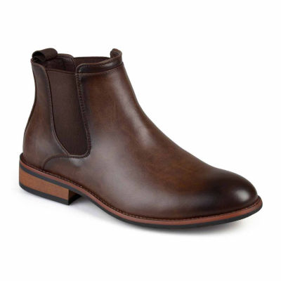 Vance Co Mens Landon Chelsea Chelsea Boots Pull-on