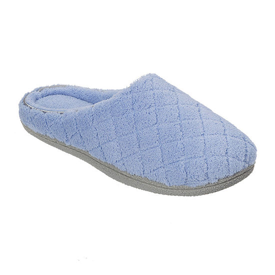 4d74d31fb3b58 Dearfoams Quilted Terry Clog Slippers - JCPenney