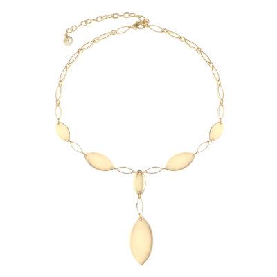 Gloria Vanderbilt Womens Y Necklace