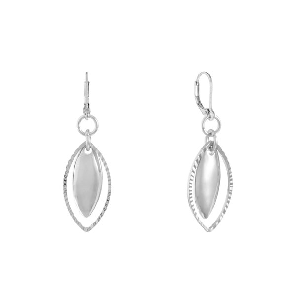Gloria Vanderbilt Brass Drop Earrings 3Rx15v8Fg