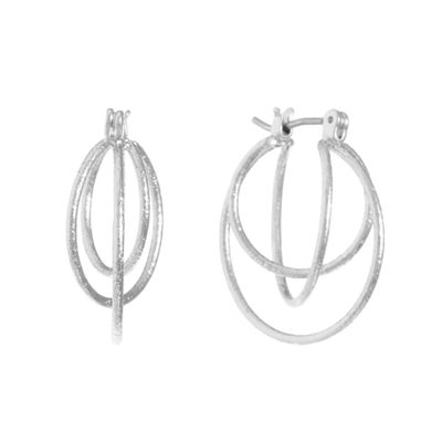 Gloria Vanderbilt 2 Inch Hoop Earrings RMyhoK4r3
