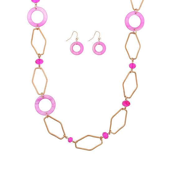 Mixit 2-pc. 36 Inch Curb Necklace Set