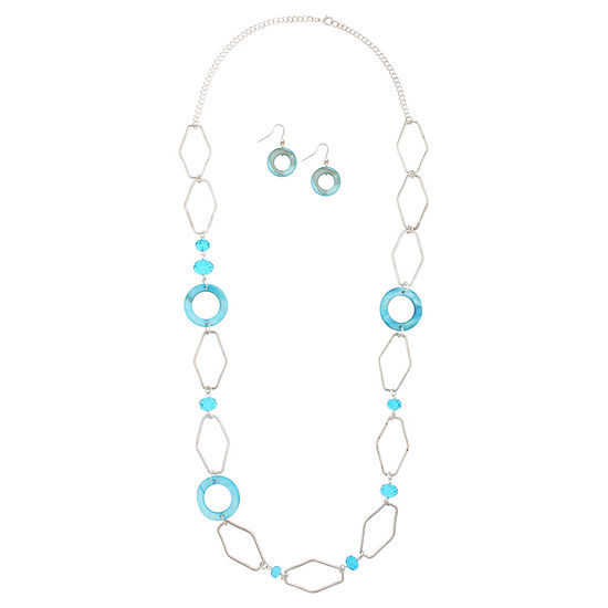 Mixit 2-pc. 36 Inch Curb Necklace Set