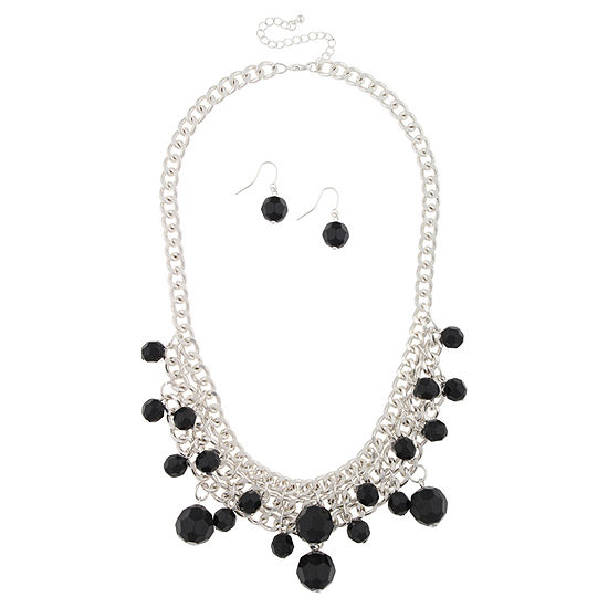 Mixit Womens 2 Pc Necklace Set