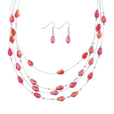Mixit Womens 2-pack Necklace Set