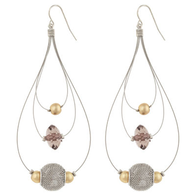 Bold Elements Drop Earrings