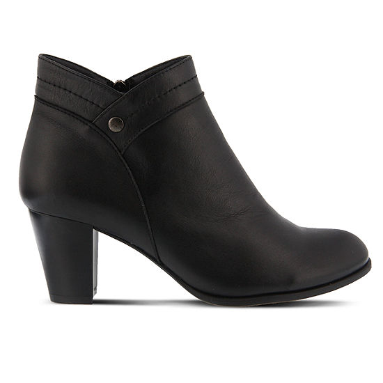 Spring Step Womens Itilia Dress Boots Block Heel